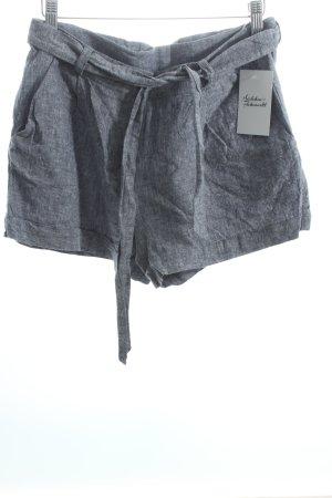 Vila Shorts graublau meliert Casual-Look