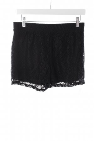Vila Shorts schwarz Romantik-Look