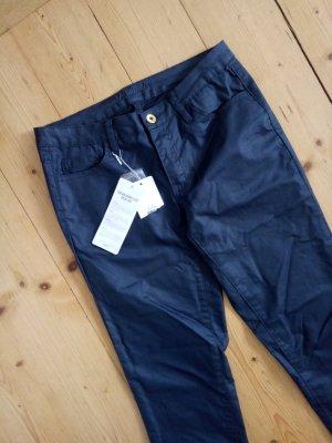 Vila Skinny Fit Jeans Röhrenjeans cleavo 5p LW Coated Noos S 36 38