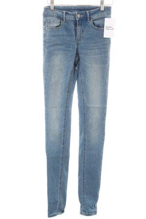 Vila Skinny Jeans hellblau Casual-Look