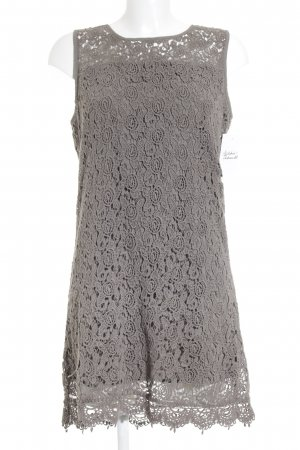 Vila Lace Dress sage green-olive green floral pattern lace look
