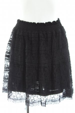 Vila Lace Skirt black casual look