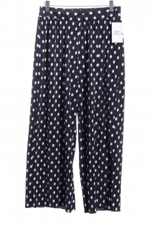 Vila Jersey Pants black-white polyester