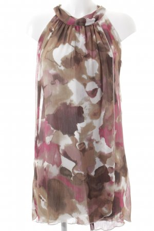 Vila Beach Dress abstract pattern classic style