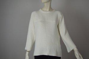 VILA Strick Pullover - weiß - Gr. 34 - 36 o. XS