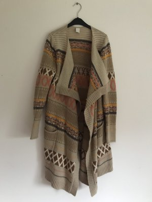 Vila Knitted Coat multicolored