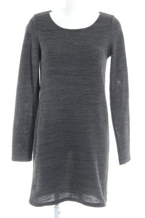 Vila Knitted Dress dark grey flecked casual look