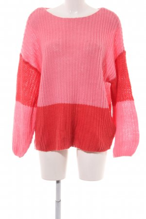 Vila Strickpullover pink-rot Casual-Look