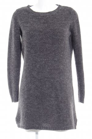 Vila Strickpullover anthrazit Casual-Look
