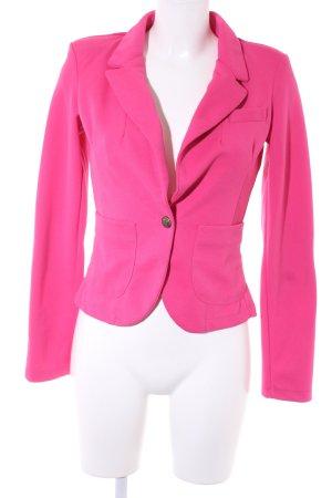 Vila Sweatblazer pink extravaganter Stil