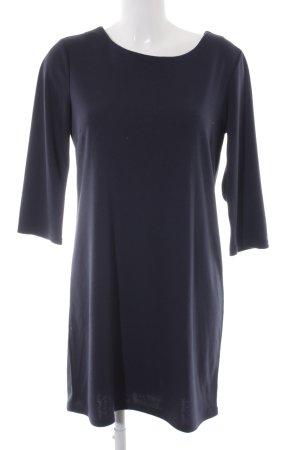 Vila Vestido de tela de sudadera azul oscuro elegante