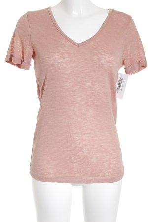 Vila T-Shirt altrosa klassischer Stil
