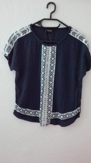 Vila T-Shirt azteken Blogger XS 34