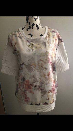 Vila T-Shirt Floral / Blumen Gr . L