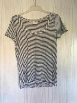 Vila T-Shirt gestreift blau weiß, XS