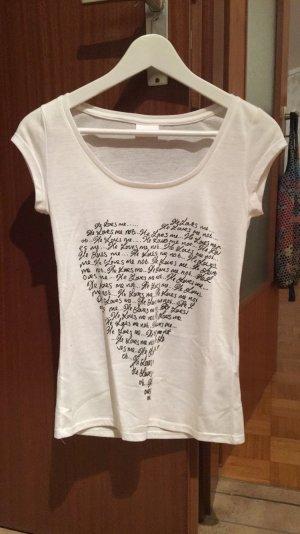 Vila T-Shirt mit Aufdruck