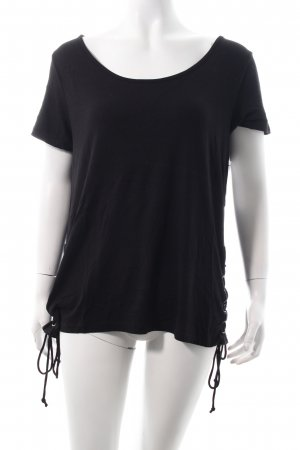 Vila T-Shirt schwarz Casual-Look