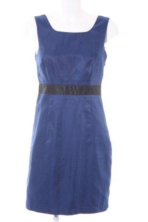 Vila Trägerkleid blau-schwarz Elegant