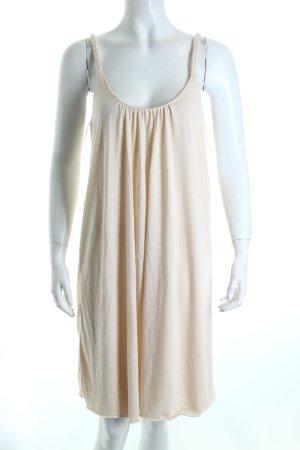Vila Trägerkleid creme klassischer Stil