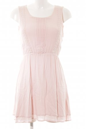 Vila Trägerkleid rosé Romantik-Look