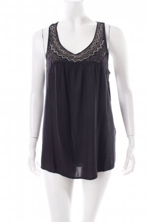 Vila Strappy Top black viscose