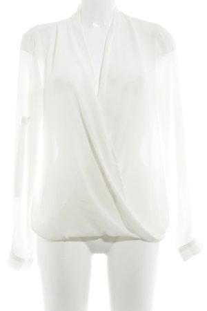 Vila Transparent Blouse natural white casual look
