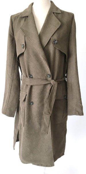 * Vila * Trenchcoat Trench Mantel Jacke 40 l Khaki grün oliv