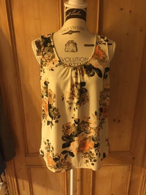 VILA - TREND Flower Tunika, Shirt mit Blumendruck