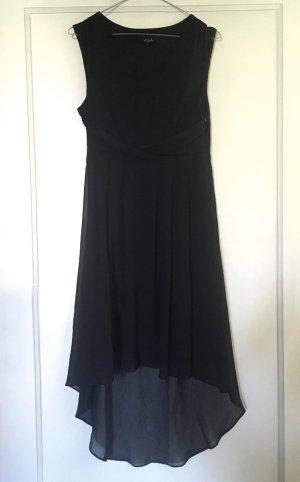 VILA Vokuhila Kleid mit Spitzenbesatz – neuwertig