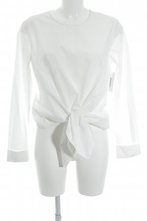 Vila Wraparound Blouse white beach look