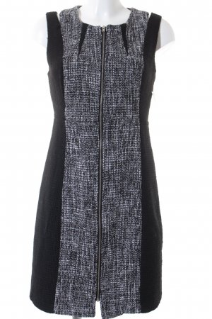 Vila Woolen Dress black-white business style