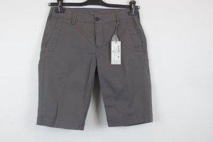 Villa Gaia Chino Shorts Gr. 28 / S dunkel grau NEU mit Etikett (18/2/566)