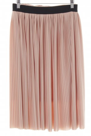 Villa Pleated Skirt apricot romantic style