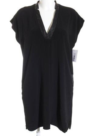 Vince ärmellose Bluse schwarz klassischer Stil