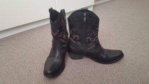 Vince Camuto-Cinna black cowboy boots, size 37
