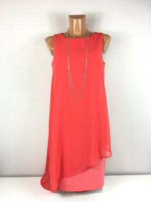 Vince Camuto Damen Kleid Abendkleid Cocktailkleid Festkleid Gr. 36 Rot