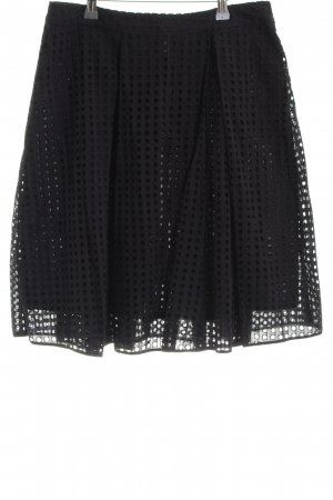 Vince Camuto Godet Skirt black casual look