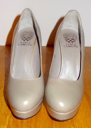'Vince Camuto' Graue & Blaue Plateau High Heels 12.5cm Absatz. Fast Neu