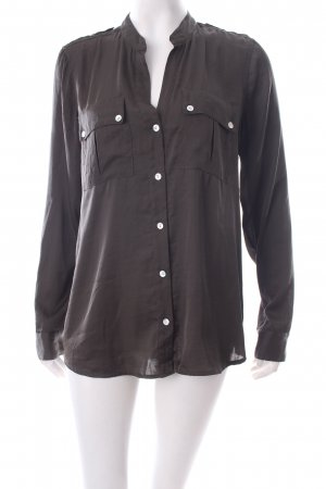 Vince Camuto Langarm-Bluse khaki Casual-Look