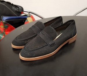Vince Camuto Moccasins black leather