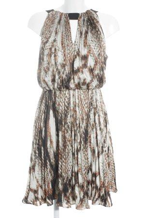 Vince Camuto Midi-jurk Patroon-mengeling straat-mode uitstraling