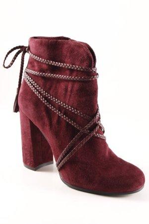 Vince Camuto Reißverschluss-Stiefeletten purpur Street-Fashion-Look
