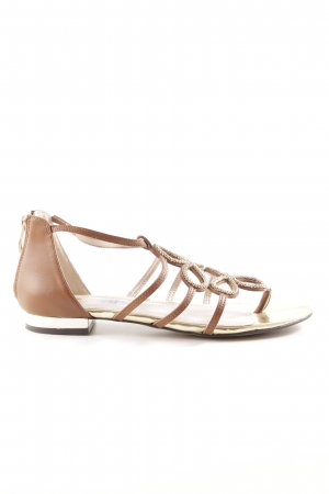 Vince Camuto Strapped Sandals brown-gold-colored casual look
