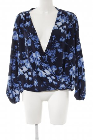 Vince Camuto Wraparound Blouse abstract pattern extravagant style