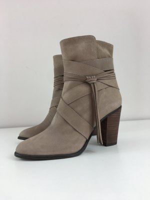 Vince Cumato Damen Stiefeletten Boots Halbstiefel Gr. 38 braun