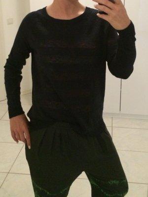 Vince - Dunkelblauer Pullover aus Feinstrick (NP 205 EUR)