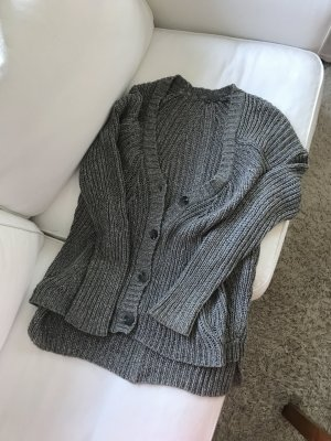 Vince Grobstrick Jacke Cardigan Knit Wolle Lang