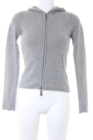 Vince Kapuzensweatshirt hellgrau-grau sportlicher Stil