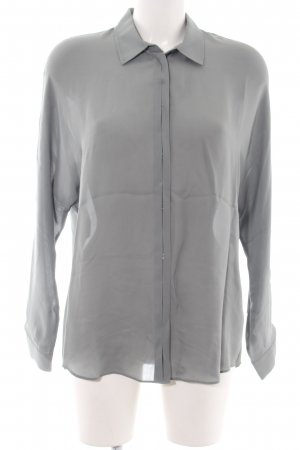 Vince Silk Blouse light grey business style
