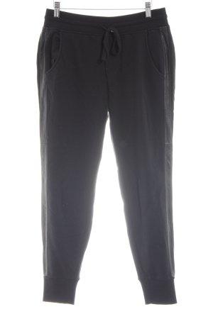 Vince Sweat Pants black simple style